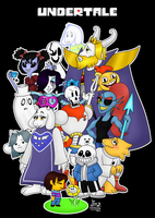 Undertale! by Waffle-the-kitten