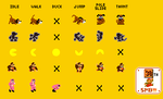 Unofficial Super Mario Maker Amiibo Sprites by Snivy101