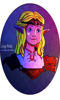 Princess Zelda by Soraya-Mendez