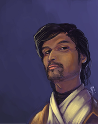 Self Portrait - 3 - Jedi by Vyoma