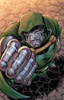Dr. Doom Color by DashMartin