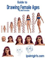 How to Draw Female Ages by discipleneil777