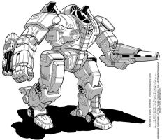 Battletech: Wakazashi by Mecha-Zone