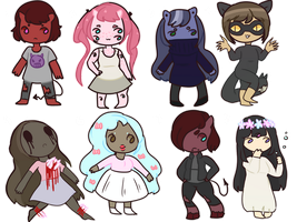 Misc Adoptables Batch (open!!) by mellow-weather