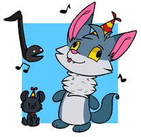 Happy Birthday Eric! by Dr-FuzzNote