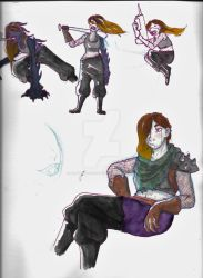 Borderlands oc by Wolfdemon-the-Great