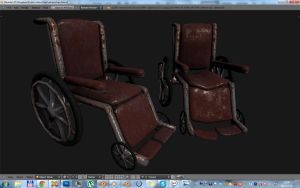 Wheelchair prop by betasector