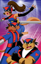 SWAT Kats in Action by FrostedRights