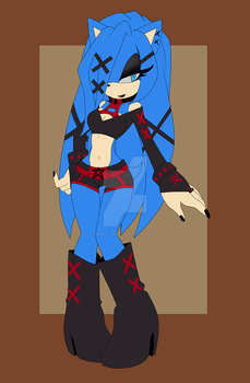 ::ADOPTABLE:: blue Hedgehog GIRL [CLOSED] by Gabriel-adopts