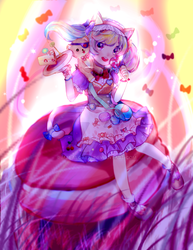 Concept new dress - Annie (league of legends) by maealgae13