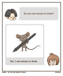 Do You Use Mouse to Draw? by mclelun