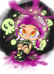 Agent 8 - Splatoon 2: Octo Expansion by shadowgirl211