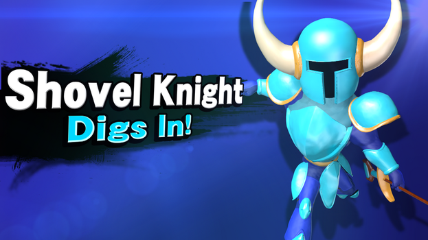 SSB4-U HACK/MOD: Shovel Knight! by krakelak