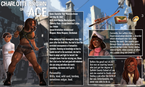 [FALLOUT OC] Ace/Charlotte Brown | Reference Sheet by SatiricalKat