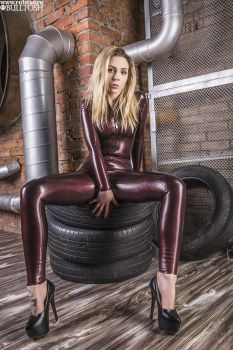 Katerina and tyres by latex-rat