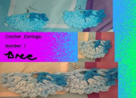 MY FIRST CROCHET EARRINGS by Lillmissthang
