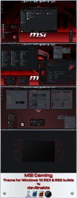 MSI Gaming RS3-RS2 by devillnside
