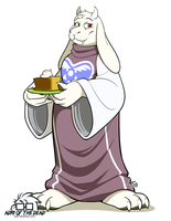 #FanartFriday - Toriel by AdriOfTheDead