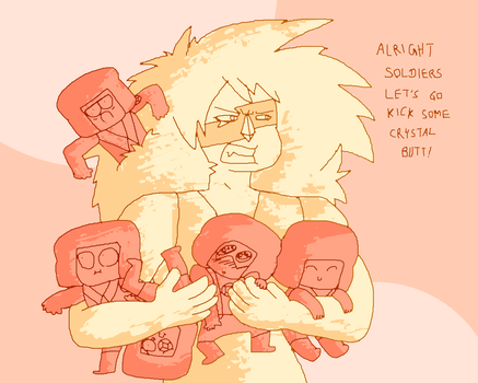 Jasper's Army of Mischief (spoilers kinda) by Moon-Side