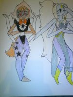 Sardonyx and Opal by Illiterate-Swine