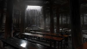 Dinning Hall by merl1ncz