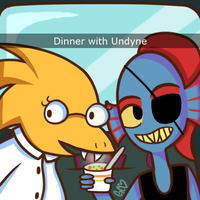 Dinner With Girlfriend by Trollan-gurl22