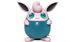 Wigglytuff's one-piece swimsuit