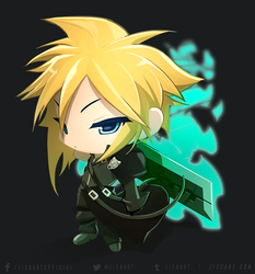 Chibi Cloud by JisuArt