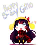 Happy B-day Gilolo by Yamio