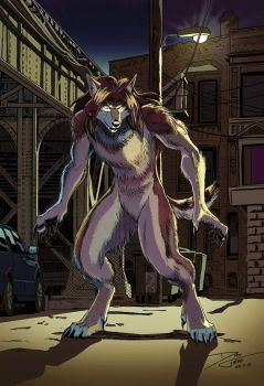 Urban Wolf - Color by dirktiede