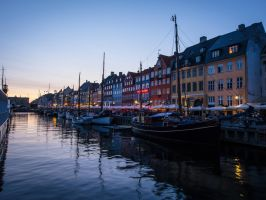 Nyhavn Sunset by amipal