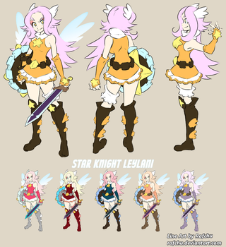Star Knight Leylani [Reference and Palettes] by aRBy125