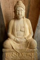 buddha by carvenaked