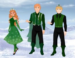 Emerald's Royals (Part One) by Sapphire-Roz