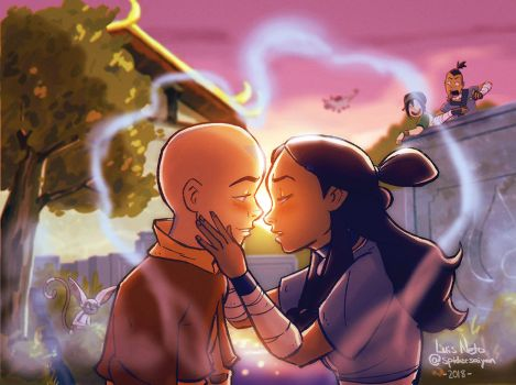 Avatar: The Last Airbender by Spidersaiyan