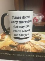 Don't Piss Off the Writer by KellySchot