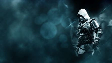 Edward Kenway Wallpaper by Pateytos