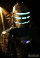 DEAD SPACE - Isaac Clarke Cosplay Level 3 Suit 2 by SKSProps