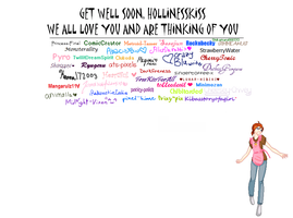 Get Well Soon Holly by Cheesey-Chivey