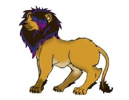 Scene Lion for Adopts? OPEN by PurplePeople1995