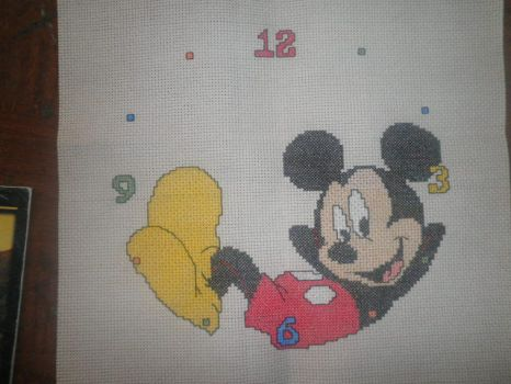 Mickey Mouse Clock by Jazzcat-27