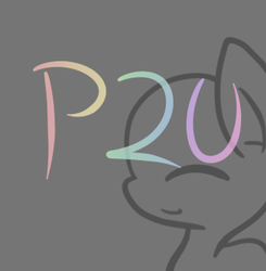 -P2U- Pon Lineart by Dat-Lil-Filly