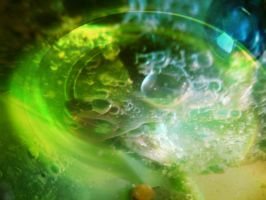green bubbles texture by EvilHateYouAllStock