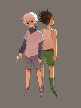 hxh by 6oys