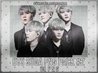 [BTS] Suga Png Pack #2 by Luumes