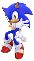 Sonic Advance 3 Sonic Render by TBSF-YT