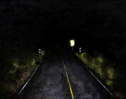 Dark road by Odomi2