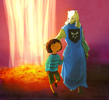 Undertale by Haganegirl