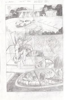 Bloodbat #1 rough pencils page 1 by UltimateInker