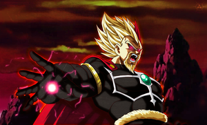 King Vegeta Xeno by NARUTO999-BY-ROKER